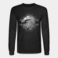 Long sleeves Bird face Eagle