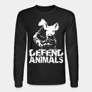 Long sleeves Defend animals