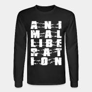 Long sleeves Animal liberation
