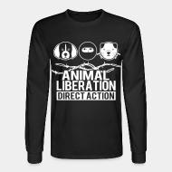Long sleeves Animal liberation direct action
