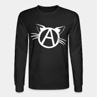 Long sleeves Vegan anarchist