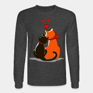 Long sleeves Cat in love