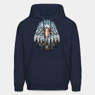 Hooded Sweatshirt Eagle bird