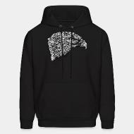 Hooded Sweatshirt Eagle