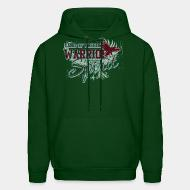 Hooded Sweatshirt Land of freedom Warrior spirit