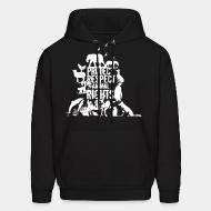 Hooded Sweatshirt protect respect animal right