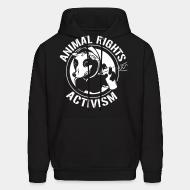 Hooded Sweatshirt Animal rights activism