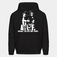 Hooded Sweatshirt A.L.F animal liberation front