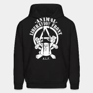 Hooded Sweatshirt Animal liberation front