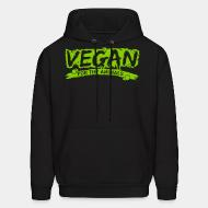 Hooded Sweatshirt Vegan for the animals