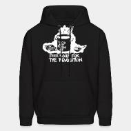 Hooded Sweatshirt Food not bombs 