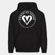 Hooded Sweatshirt certified vegan