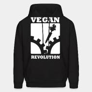 Hooded Sweatshirt Vegan Revolution