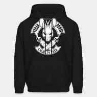 Hooded Sweatshirt Vegan power cruelty free