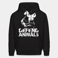 Hooded Sweatshirt Defend animals