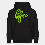 Hooded Sweatshirt Go vegan