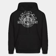 Hooded Sweatshirt Animal liberation until every cage is empty