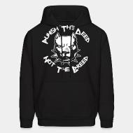 Hoodie Punish the deed not the breed