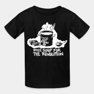 Children t-shirt Food not bombs 