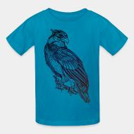 Children t-shirt bird
