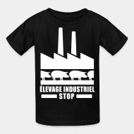 Children t-shirt �levage industriel stop