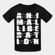 Children t-shirt Animal liberation