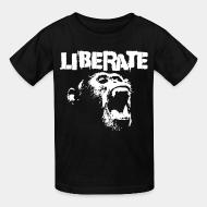 Children t-shirt Liberate