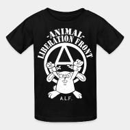 Kid tshirt Animal liberation front