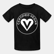 Children t-shirt certified vegan