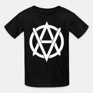 Children t-shirt Vegan anarchist