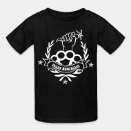 Kid tshirt Vegan hooligans