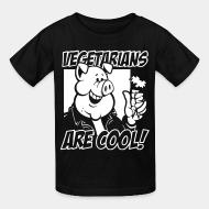 Children t-shirt Vegetarian are cool