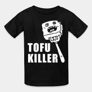 Kid tshirt tofu killer