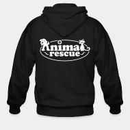 Zip hoodie animal rescue