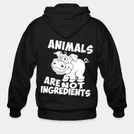 Zip hoodie animal are not ingredients