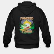 Zip hoodie powered by plants