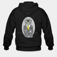 Zip hoodie Fashion animals