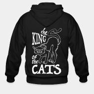 Zip hoodie The king of the cats