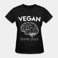 Women's t-shirt Vegan starter pack