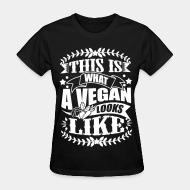 Women's t-shirt this is what a gegan look like