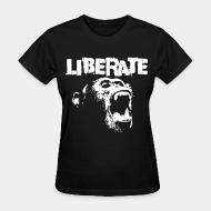 Women's t-shirt Liberate