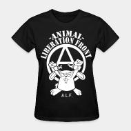 Women's t-shirt Animal liberation front