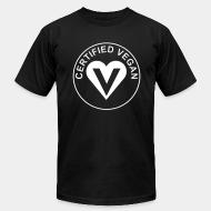American Apparel t-shirt certified vegan
