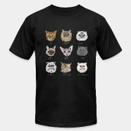 American Apparel t-shirt Persian / Maine coon / Exotic Shorthair / british / stanese / bengali / siberian / scotthish fold