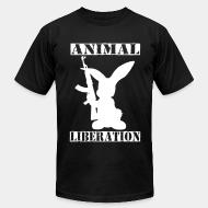 American Apparel t-shirt Animal liberation
