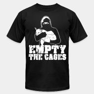 American Apparel t-shirt Empty the cages