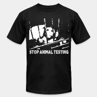 American Apparel t-shirt Stop animal testing