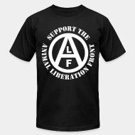 American Apparel t-shirt Support animal liberation front