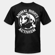 American Apparel t-shirt Animal rights activism
