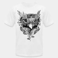 American Apparel t-shirt bird face howl